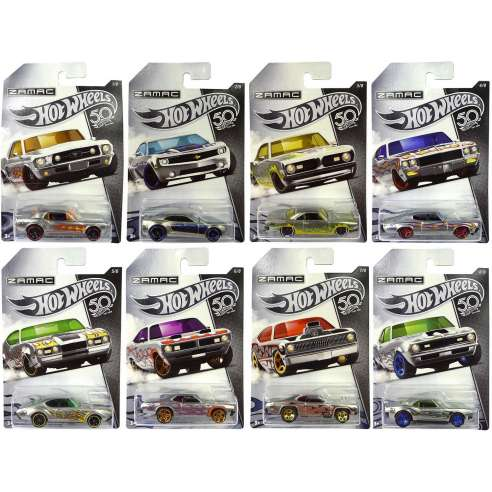 Hot Wheels 50 Aniversario Zamac