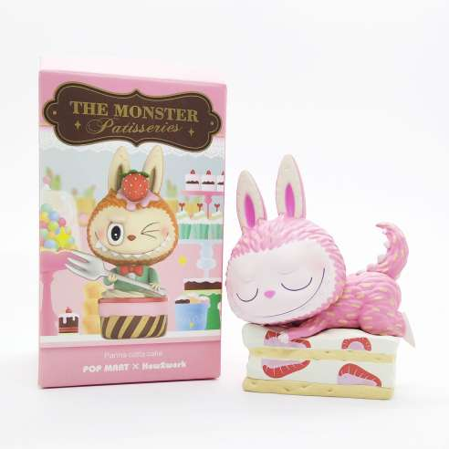 The Monster Patisseries Labubu by Kasing Lung - Strawberry Fraisier Cake