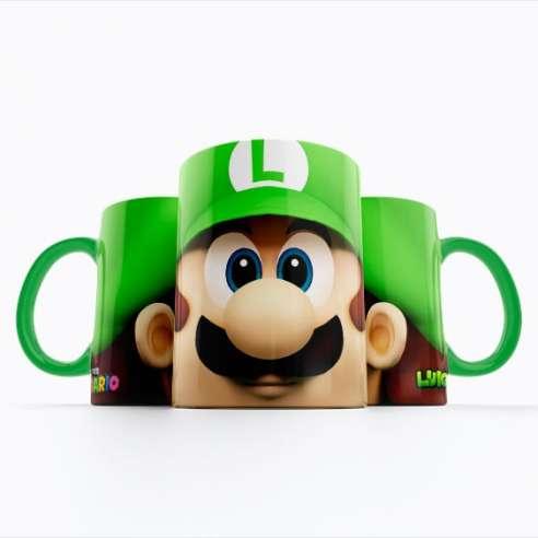 Taza Luigi Mario Bros
