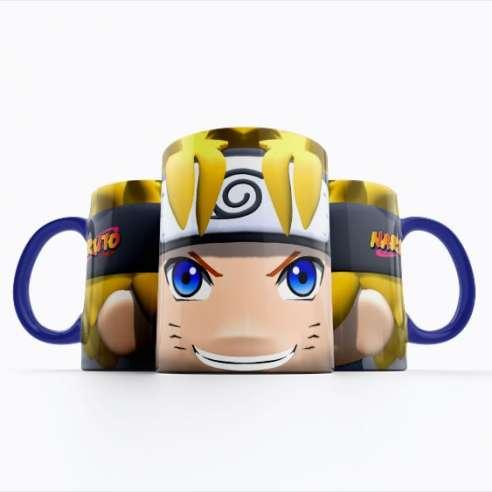 Taza Naruto Face