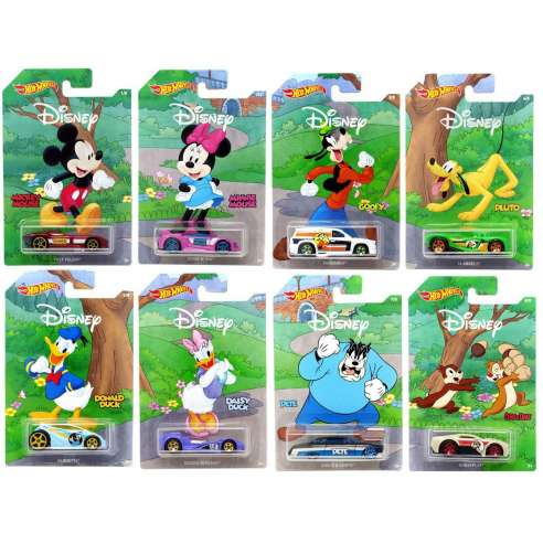 Hot Wheels Mickey and Friends Disney Set