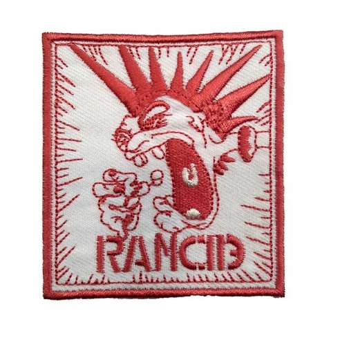 Parche Rancid Red