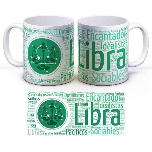 Taza Zodiaco Horóscopo Libra