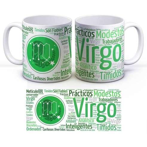 Taza Zodiaco Horóscopo Virgo