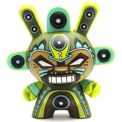 Azteca Series 2 Dunny Series - Mini God by Marca27