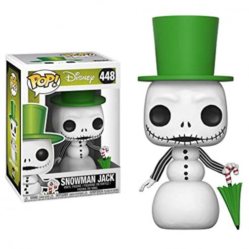 Funko Pop Snowman Jack Pesadilla antes de Navidad