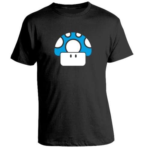 Camiseta Seta Mario Azul